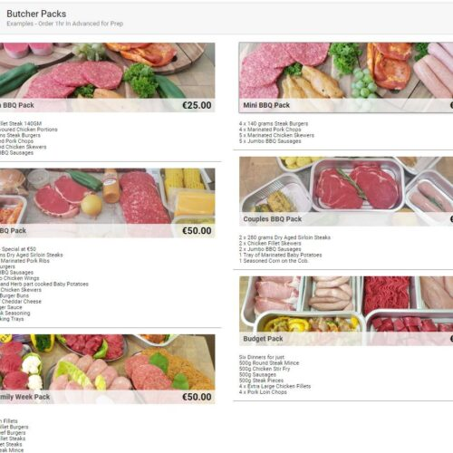 How to set online butcher store Malta & Gozo